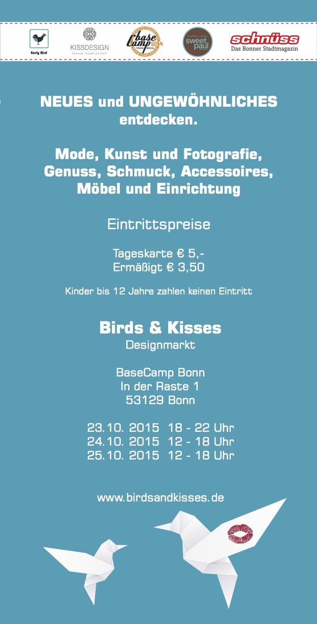 Flyer_Birds_and_Kisses_2015_Designmarkt_Winterkollektion