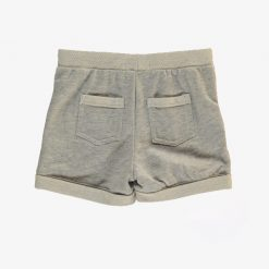 Bild shorts-grau-melange-hinten