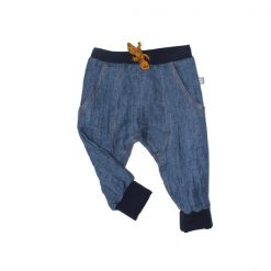 leinenhose jeanslook