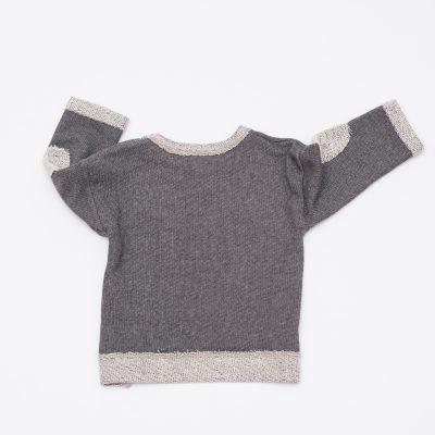 sweater grau melange