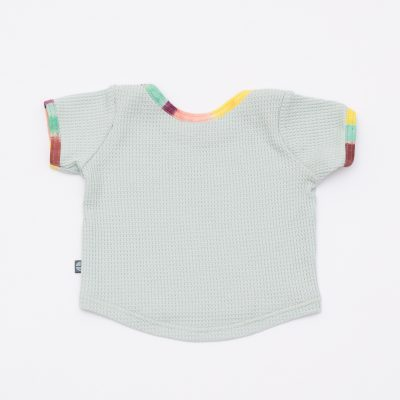 baby shirt aus waffel jersey