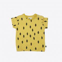 T-shirt-gelb-dreieck-vorne
