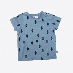 t-shirt-blau-dreiecke-vorne