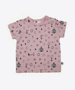 t shirt pink zirkus vorne
