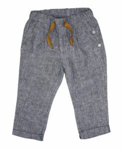 Leinenhose Kinder, Leinenhose Jeanslook, Bio Jeans