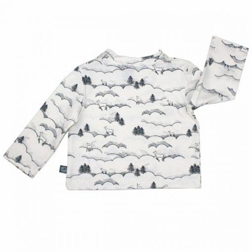shirt winterlandschaft back