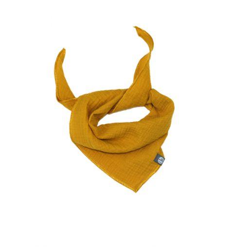 muslin tuch gelb