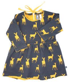 kleid bambi anthrazit