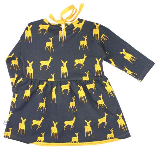 kleid bambi anthrazit hinten