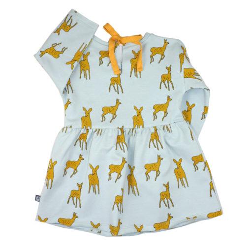 kleid bambi mint hinten